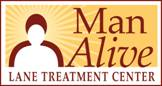 Man Alive Lane Tretement Center Logo